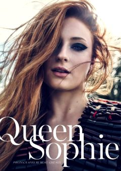 Sophie Turner – Marie Claire USA November 2017
