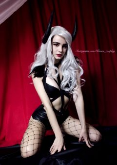 Succubus Aurelia Is Back. Hope That You Like This Character ^^ By Kanra_cosplay