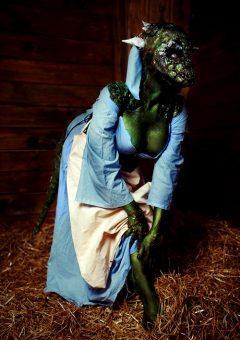 The Lusty Argonian Maid By Elena Samko