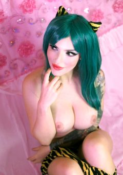 Topless Lum Cosplay From Urusei Yatsura By Moon-fox