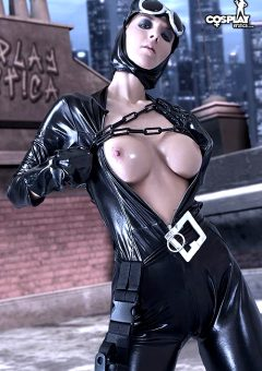 Van Holywell As Catwoman