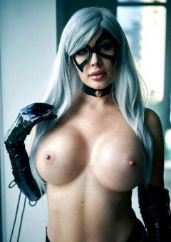 Veronika Black As Black Cat