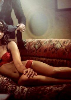 Zoe Saldana By Randall Slavin